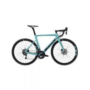 Bici da Corsa Bianchi Aria Disc Ultegra 11 V Celeste Tg. 55