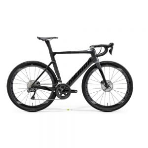 Bici da Corsa Merida REACTO DISC 8000-E Nero Tg. S