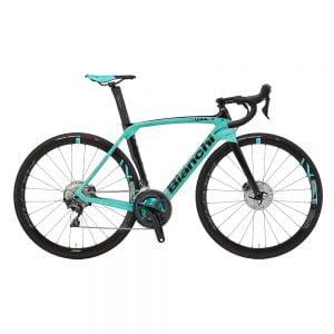 Bici da Corsa Bianchi Oltre XR3 Ultegra 11v celeste nera Tg 57